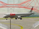 Embraer ERJ-190 Lion Air for GTA San Andreas rear-left view