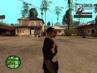 "Футболка с знаком зодиака ""Козерог"" для GTA San Andreas вид сзади слева"