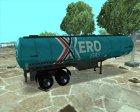 GTA IV Tanker Trailers for GTA San Andreas top view