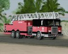 New Firetruck LA - LSFD Ladder 33 for GTA San Andreas left view