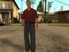 LVPD Officer without uniform для GTA San Andreas вид сверху