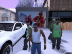 Дверь гаража текстура GTA V для GTA San Andreas вид изнутри