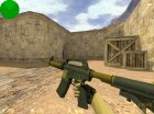 M4A1-S Knight из CS:GO для Counter-Strike 1.6 вид сбоку