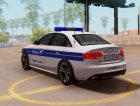 Audi S4 - Croatian Police Car для GTA San Andreas вид изнутри