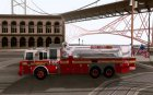 Seagrave Marauder. F.D.N.Y. Tower Ladder 186 для GTA San Andreas вид слева