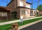 Четыре новых дома на Гроув Стрит для GTA San Andreas вид сверху