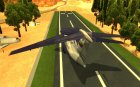 Berijew A-50 Mainstay for GTA San Andreas rear-left view