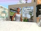Дверь гаража текстура GTA V Франклин for GTA San Andreas