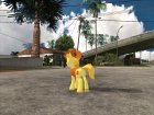 Braeburn (My Little Pony) для GTA San Andreas вид сверху