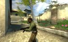 wannabes AK, chrome для Counter-Strike Source вид изнутри