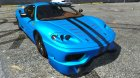 2003 Ferrari 360 Challenge Stradale for GTA 5 inside view