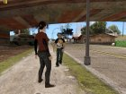 Ellie from The Last of Us для GTA San Andreas вид сверху