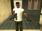 GUNS for GTA San Andreas rear-left view