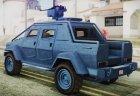 HVY Insurgent Pick-Up GTA V for GTA 4 top view