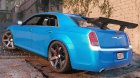 2012 Chrysler 300 SRT8 1.0 for GTA 5 rear-left view