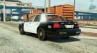 Police Crown Victoria Federal Signal Vector для GTA 5 вид слева