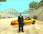 HD Mobile Tony Leone для GTA San Andreas вид слева