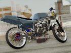 Kawasaki Ninja 150SS Drag Thaistyle for GTA San Andreas top view