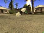 Коктейль Молотова (Постапокалипсис) для GTA San Andreas вид сзади слева