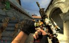 Tiger look M4a1 for Counter-Strike Source top view