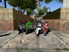 High Rated 6 Motorcycle Pack для GTA San Andreas вид слева