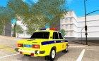 ВАЗ-2106 ГАИ для GTA San Andreas вид сверху