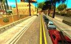 Качественные дороги в LS для GTA San Andreas вид слева