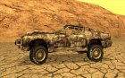 Post-apocalyptic Buffalo for GTA San Andreas top view