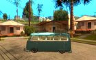 Volkswagen Type 2 Custom для GTA San Andreas вид слева