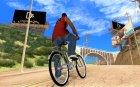 Новый велосипед для GTA San Andreas вид сверху
