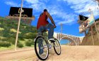 Новый велосипед for GTA San Andreas top view