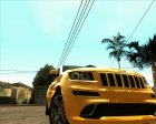 Jeep Grand Cherokee SRT-8 for GTA San Andreas inside view