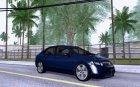 2007 Honda Civic v1.1 для GTA San Andreas вид сверху