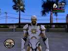 Ironman MK 3 Space GoTG White for GTA San Andreas top view
