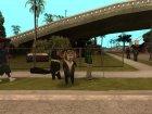 Морис из Мадагаскара для GTA San Andreas вид сверху