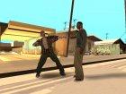 Разные стили борьбы актёров для GTA San Andreas вид слева