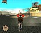 Усиленный розыск при 5-6 звёздах for GTA San Andreas left view
