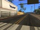 Новые улицы и тротуары в HD 2015 для GTA San Andreas вид сбоку