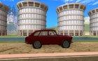 Москвич комби для GTA San Andreas вид изнутри