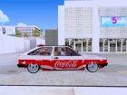 Volkswagen Gol Coca-Cola for GTA San Andreas inside view