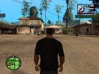 Футболка с логотипом Super Man for GTA San Andreas left view