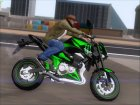 Kawasaki Z800 Monster Energy для GTA San Andreas