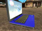 DELL Inspiron 15 New Year version для GTA San Andreas вид сзади слева
