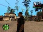Футболка с логотипом игры Stalker for GTA San Andreas rear-left view