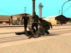 Разные стили борьбы актёров для GTA San Andreas вид справа