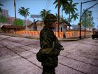 Японский солдат, конверт из PLA для GTA San Andreas вид слева