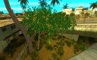 Совершенная растительность v.2 для GTA San Andreas вид сбоку