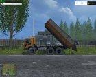 KaмАЗ 55102 v1.1 для Farming Simulator 2015 вид сверху
