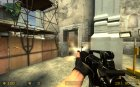 M4A1 Retex On Villain[RUS] Anims для Counter-Strike Source вид слева