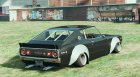 1972 Nissan Skyline GT-R HT for GTA 5 top view